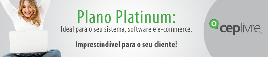 Assine o plano Platinum por apenas R$ 99,99 por mês